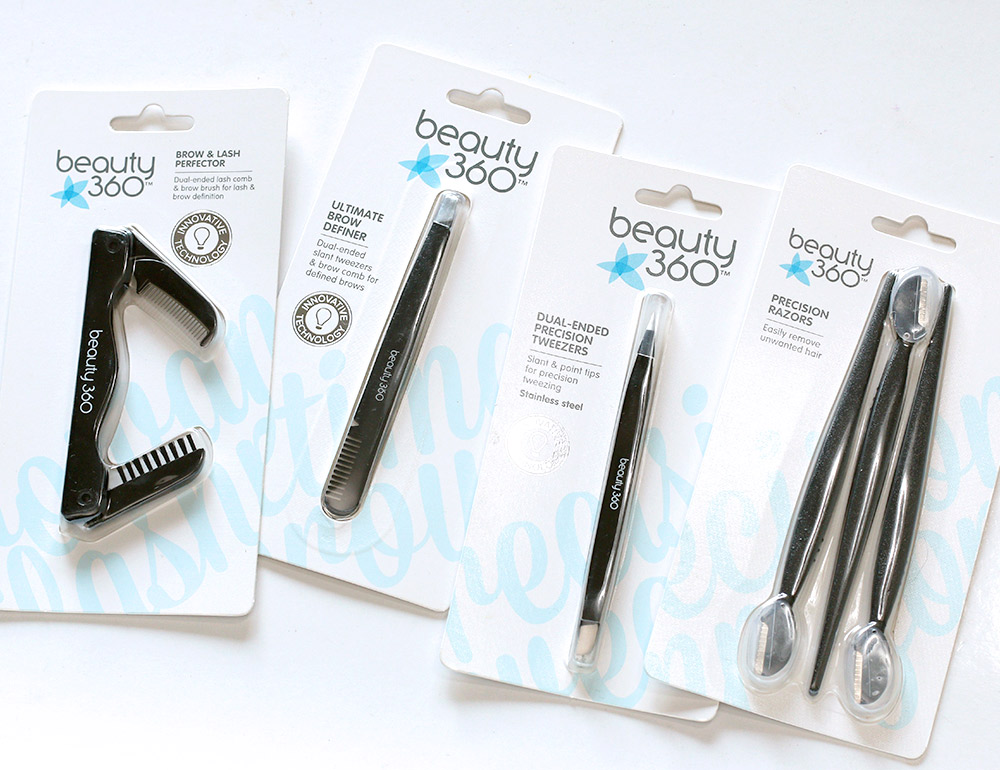 beauty 360 brow tools