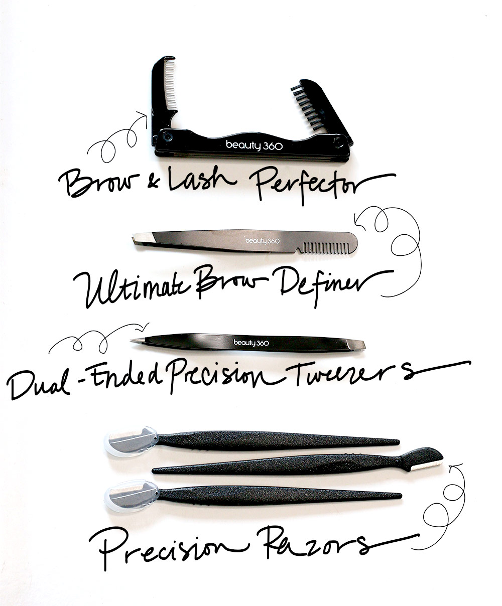 Must-have brow tools from Beauty 360