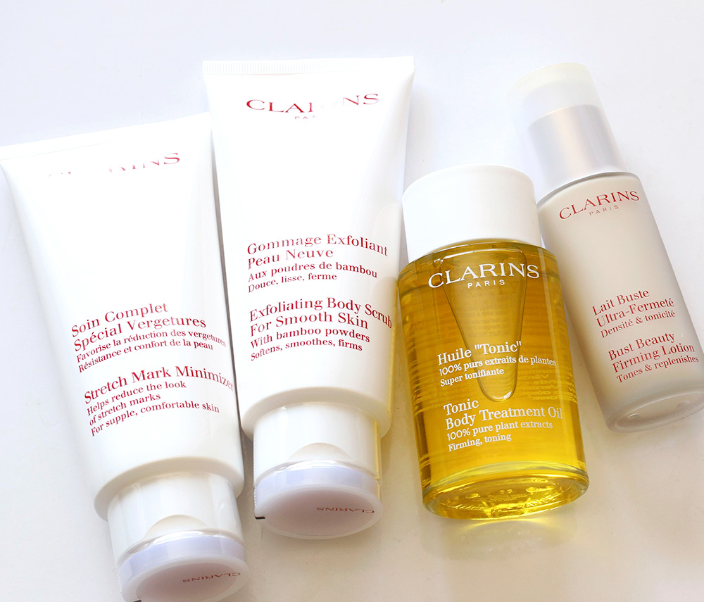 clarins pregnancy products