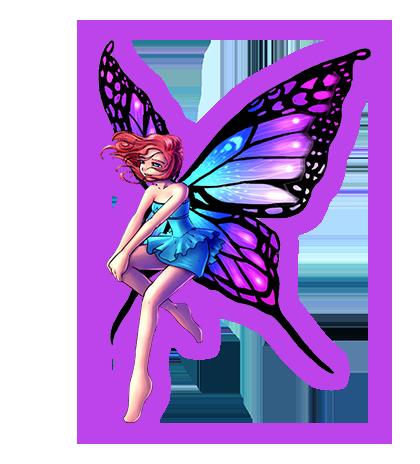 fairy-flying