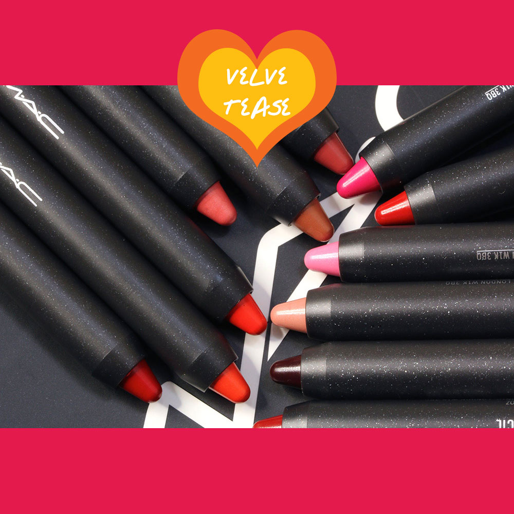 The MAC Velvetease Lip Pencils