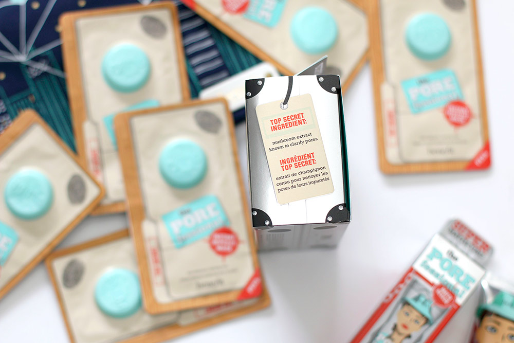 benefit porefessional instant wipeout masks