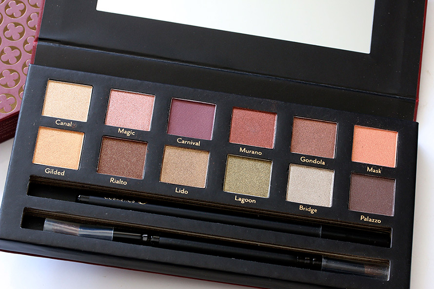 cargo venice eye shadow palette 890