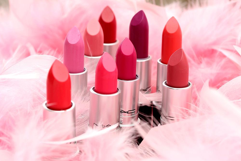 mac flamingo park lipsticks