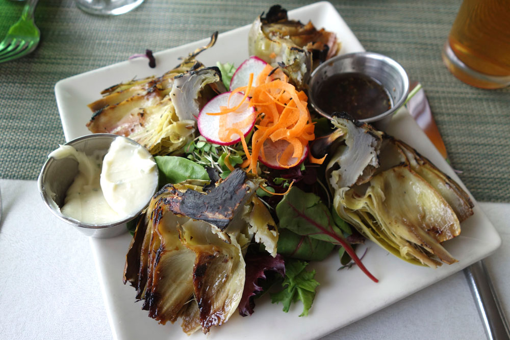 Best darned grilled artichoke I've ever had in my life!
