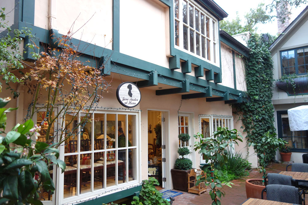This cute store is called Jane Austen at Home
