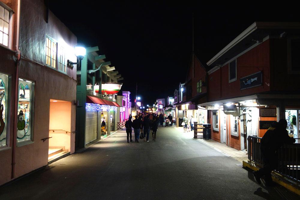 Monterey at night...