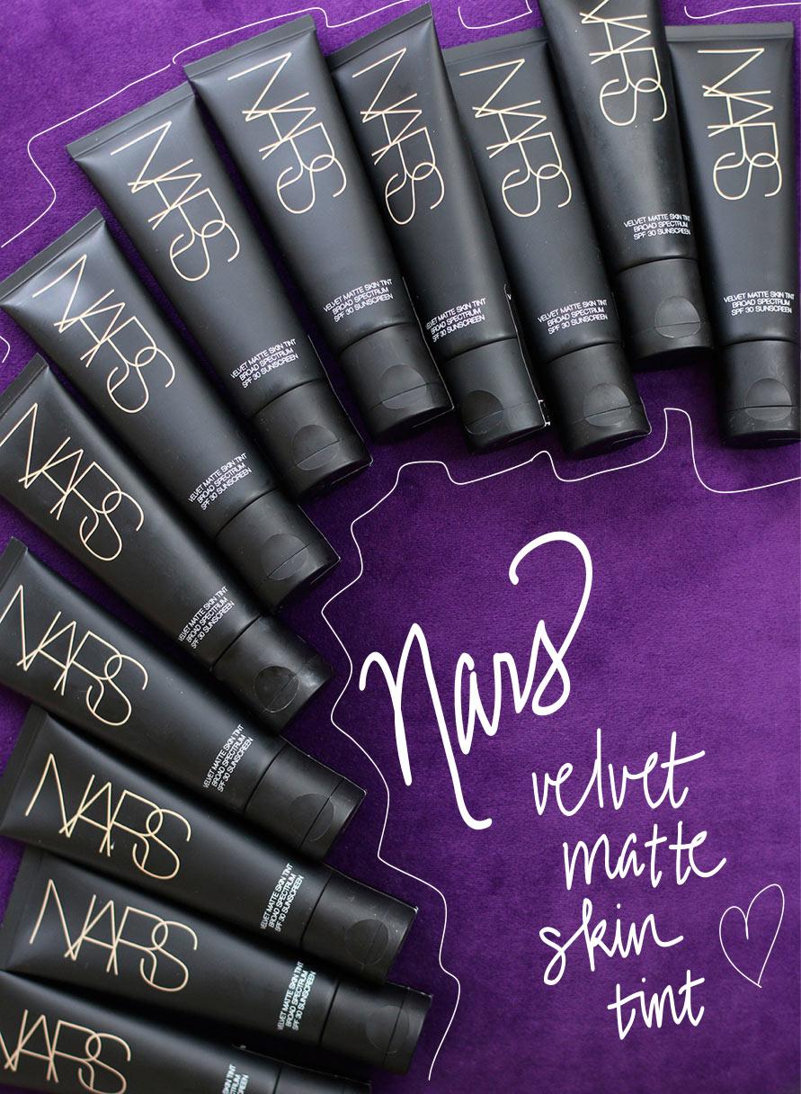 nars velvet matte skin tint spf 30 review