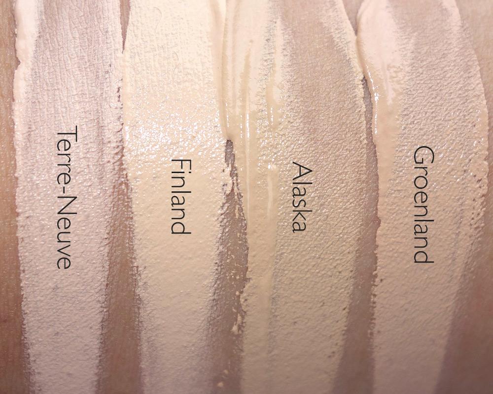 nars velvet matte skin tint spf 30 swatches