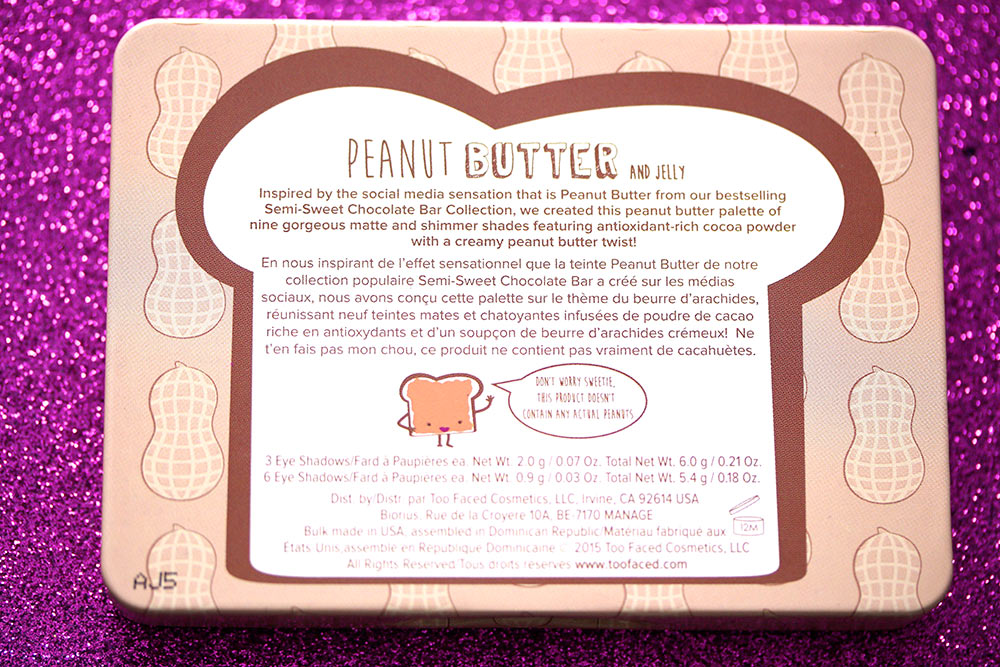 too faced peanut butter jelly palette 4