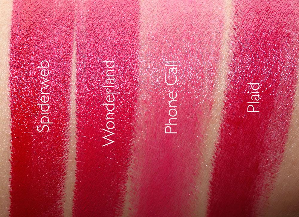 ud gwen stefani swatches lipsticks