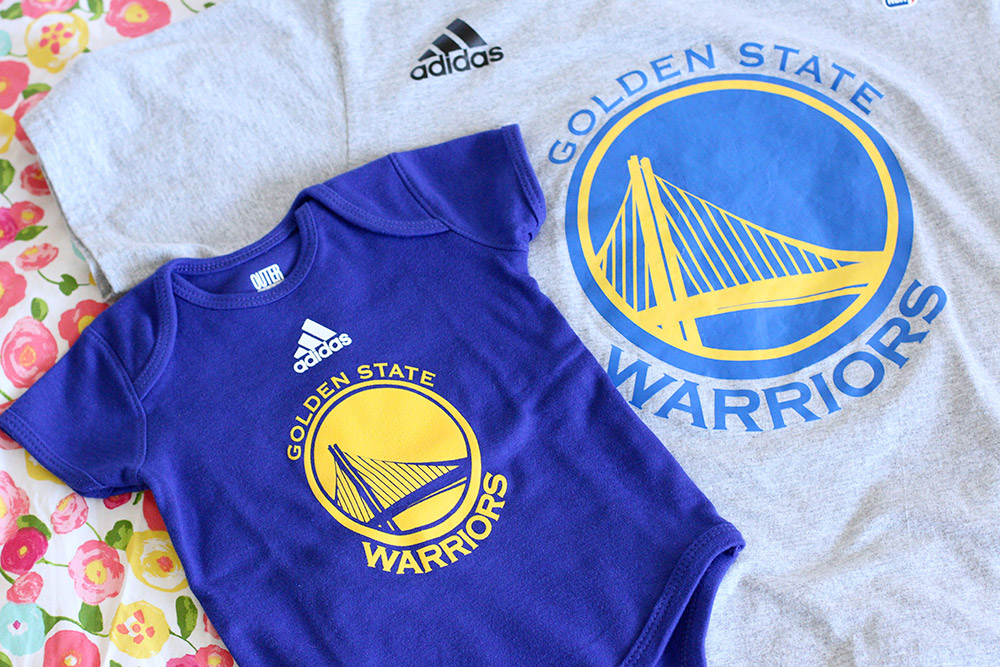 golden state warriors baby onesie 2