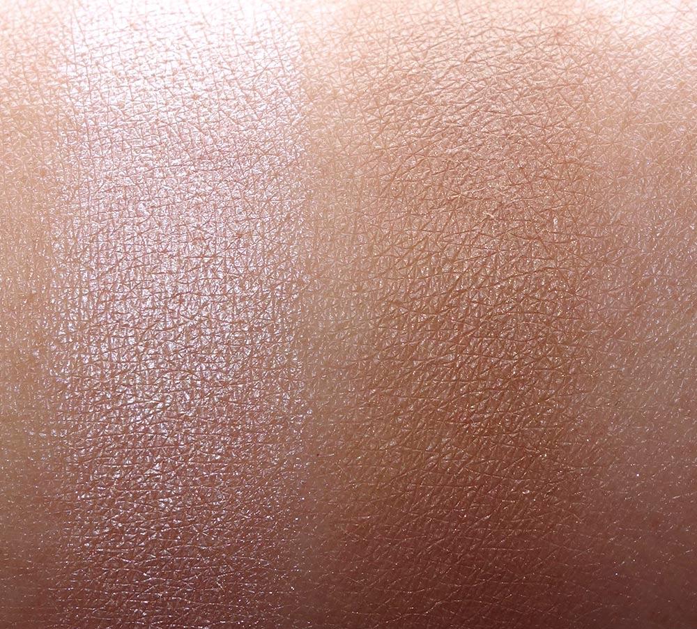 nars hot sand laguna blush bronzer duo swatch