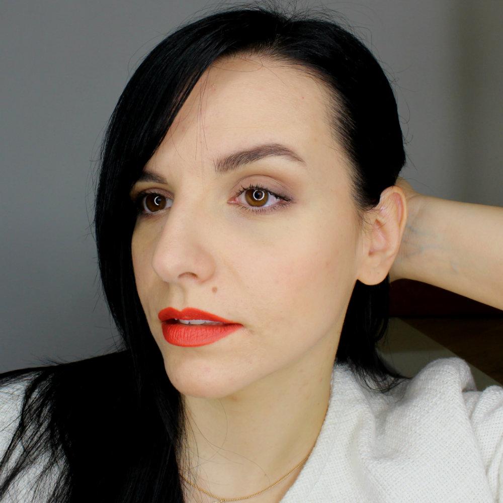 Neve Cosmetics Pastello Labbra Peperoncino Elegantissimi Eyeshadow Palette FOTD