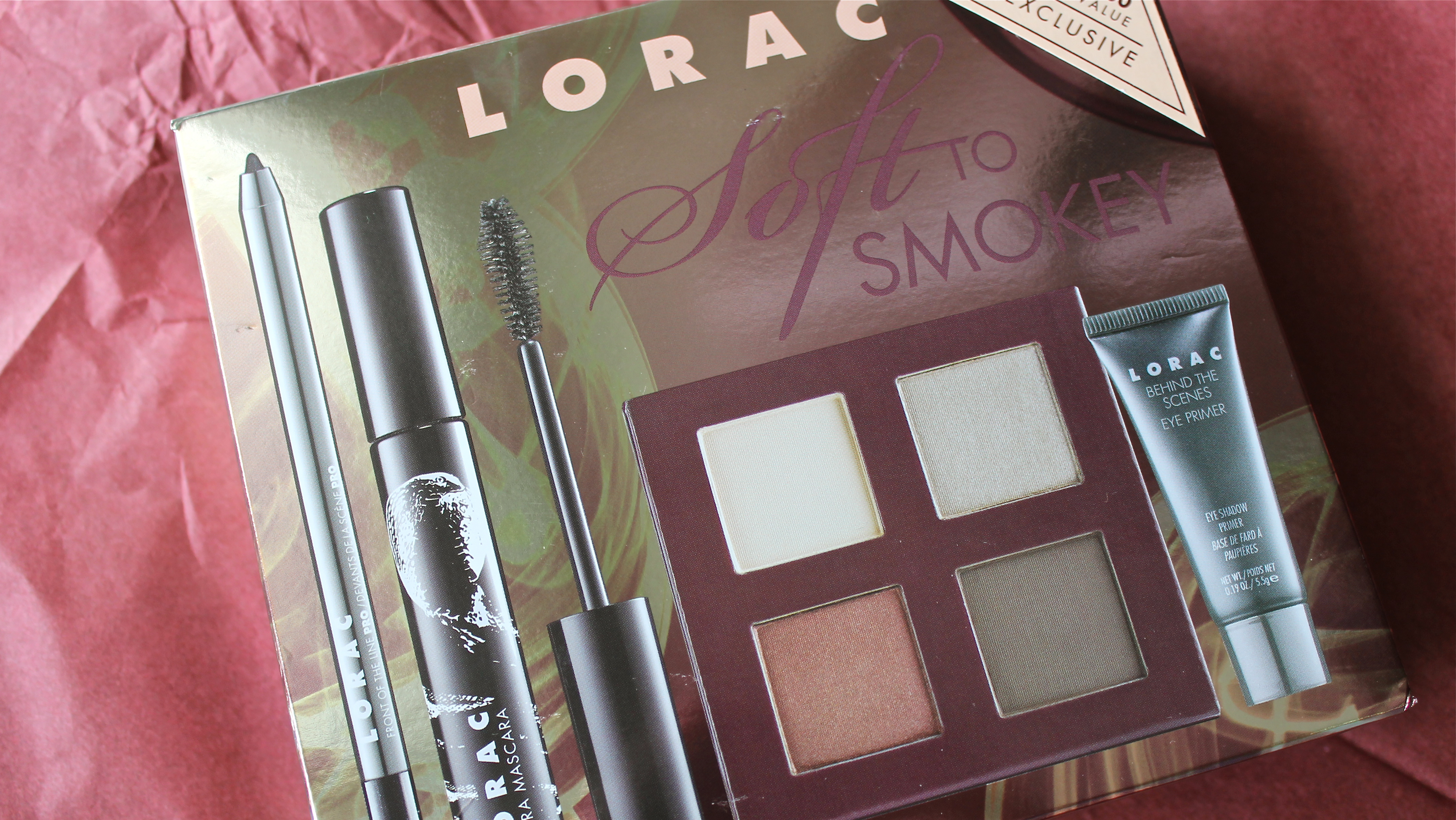 LORAC Soft to Smokey Eye Collection