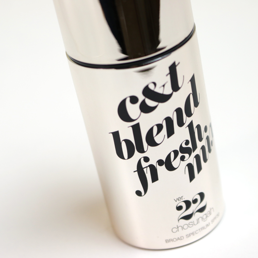 chosungah 22 c&t blend fresh mix foundation