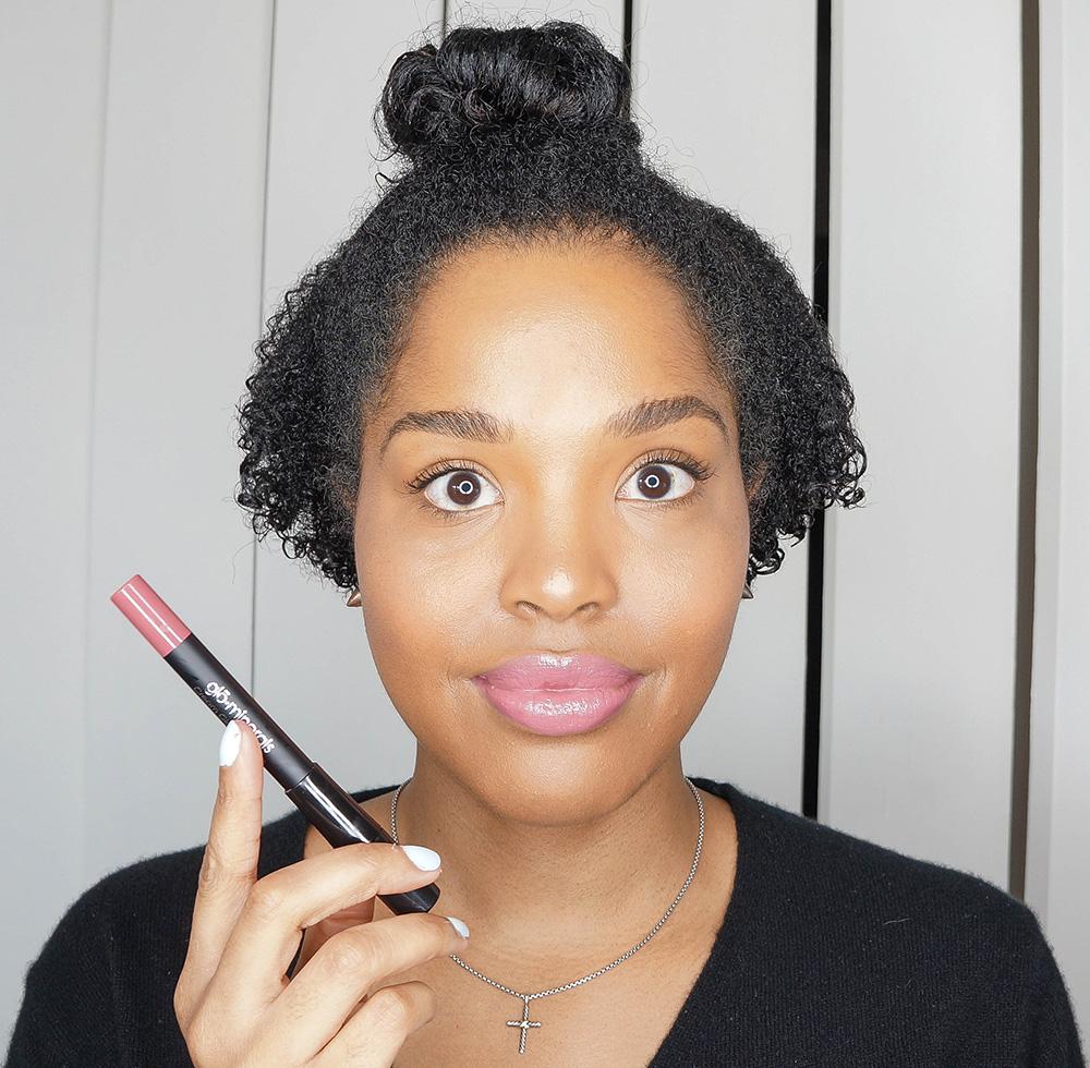 pink lipstick spring
