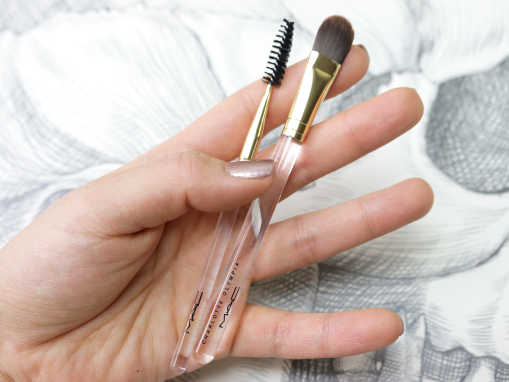 MAC Charlotte Olympia Collection Spring 2016 Brushes