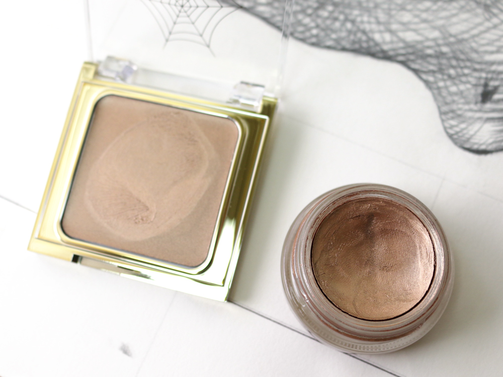 """MAC Charlotte Olympia Cream Colour Base in """"Golden Age"""" vs MAC Paint Pot """"Indianwood"""""""
