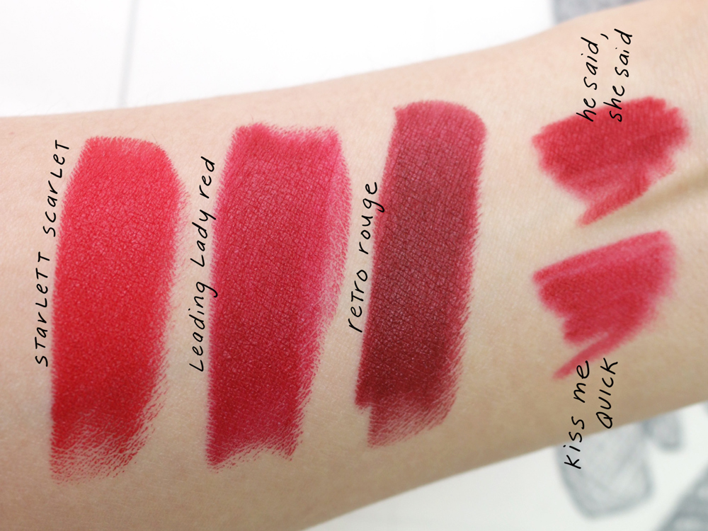 MAC Charlotte Olympia Collection Spring 2016 Lipstick Swatch vs Lip Pencil