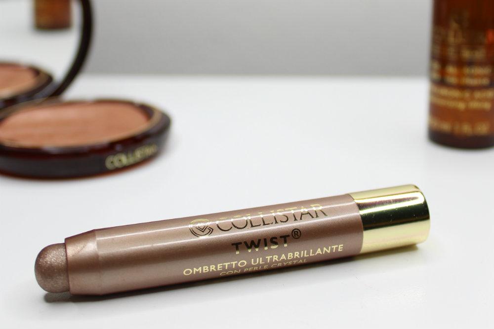 Collistar TWIST Ultra-Shiny Eyeshadow in Bronze