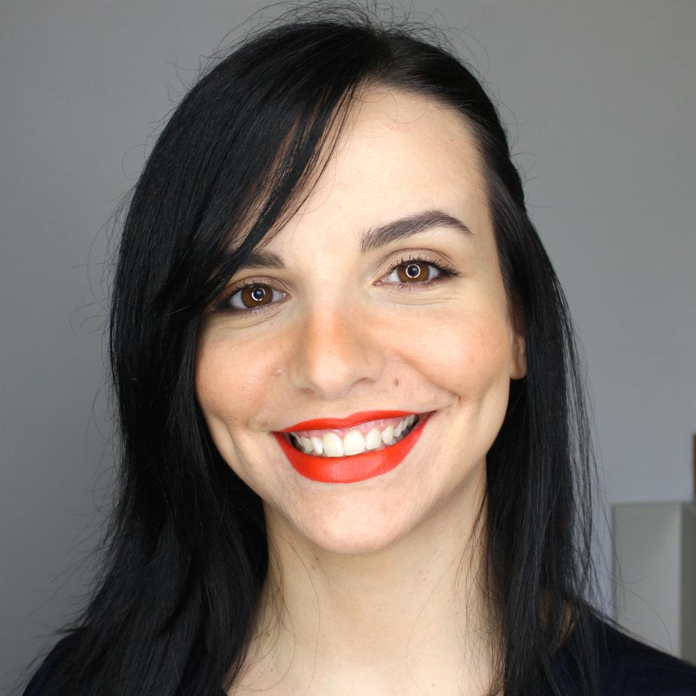 KIKO Gossamer Emotion Creamy Lipstick 117 Papaya Swatch