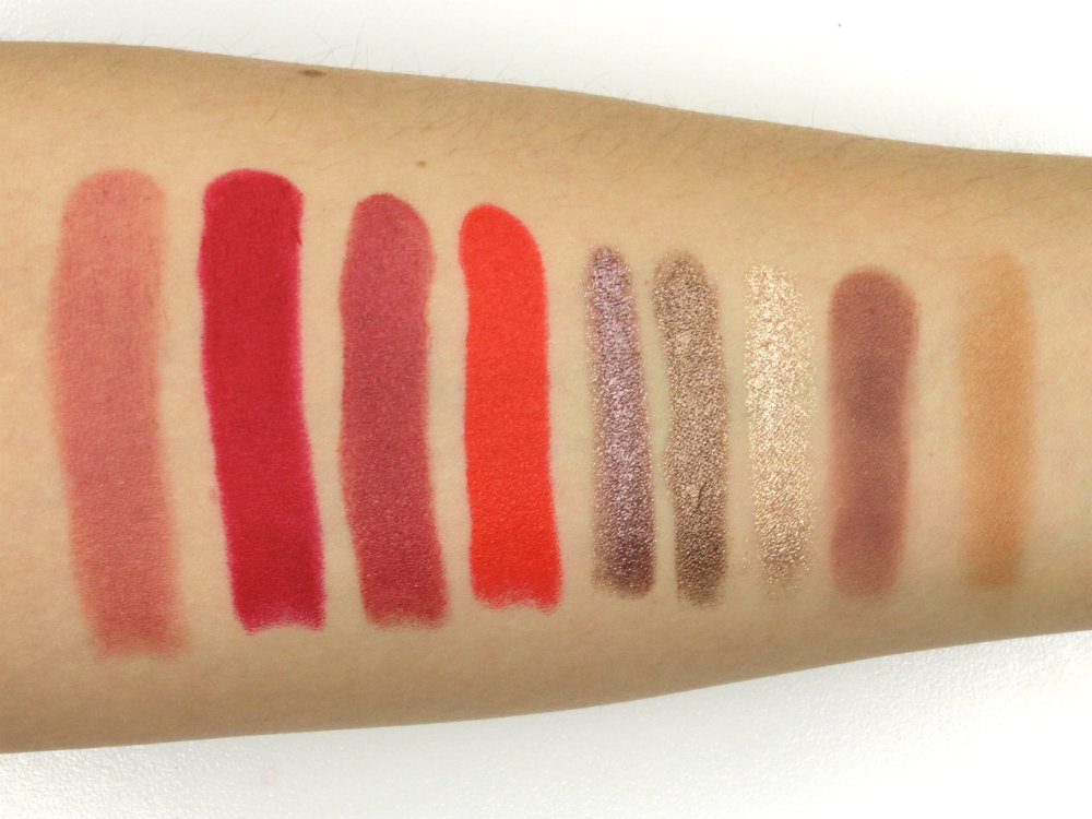 KIKO Milano Swatches