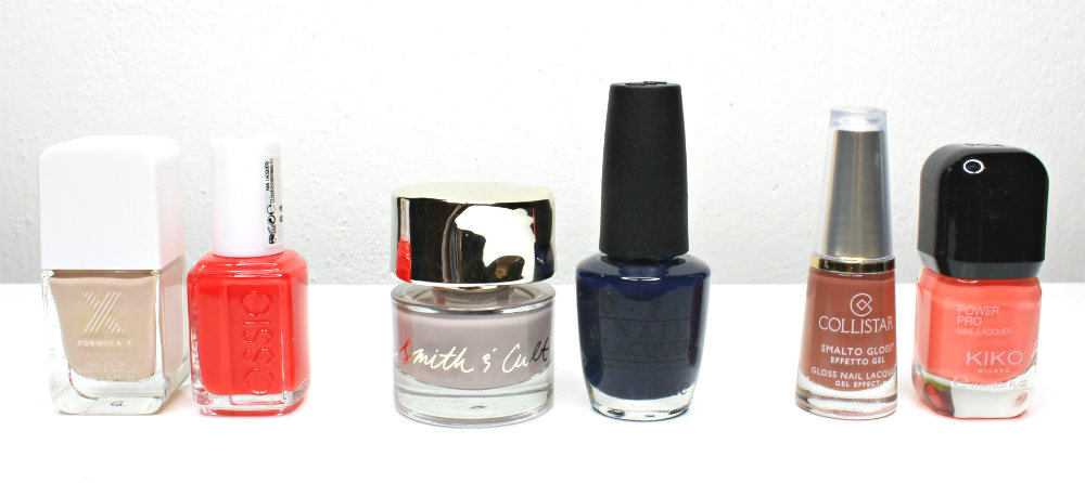 Fingers Toes Nail Polish Combinations