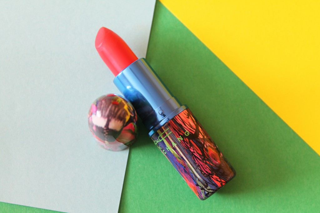 MAC Chris Chang collection Vermillion Vee Lipstick