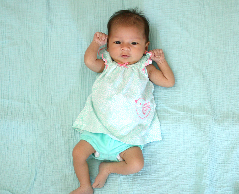 connor claire one month 1
