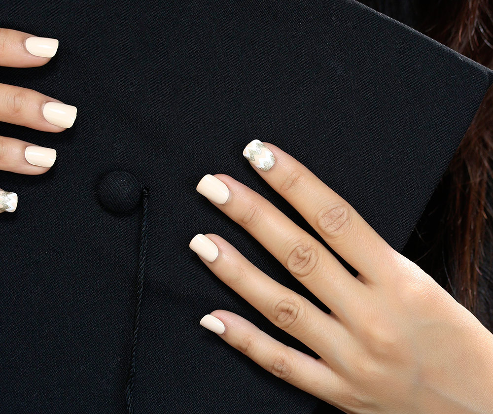 Wearing an impress Gel Manicure