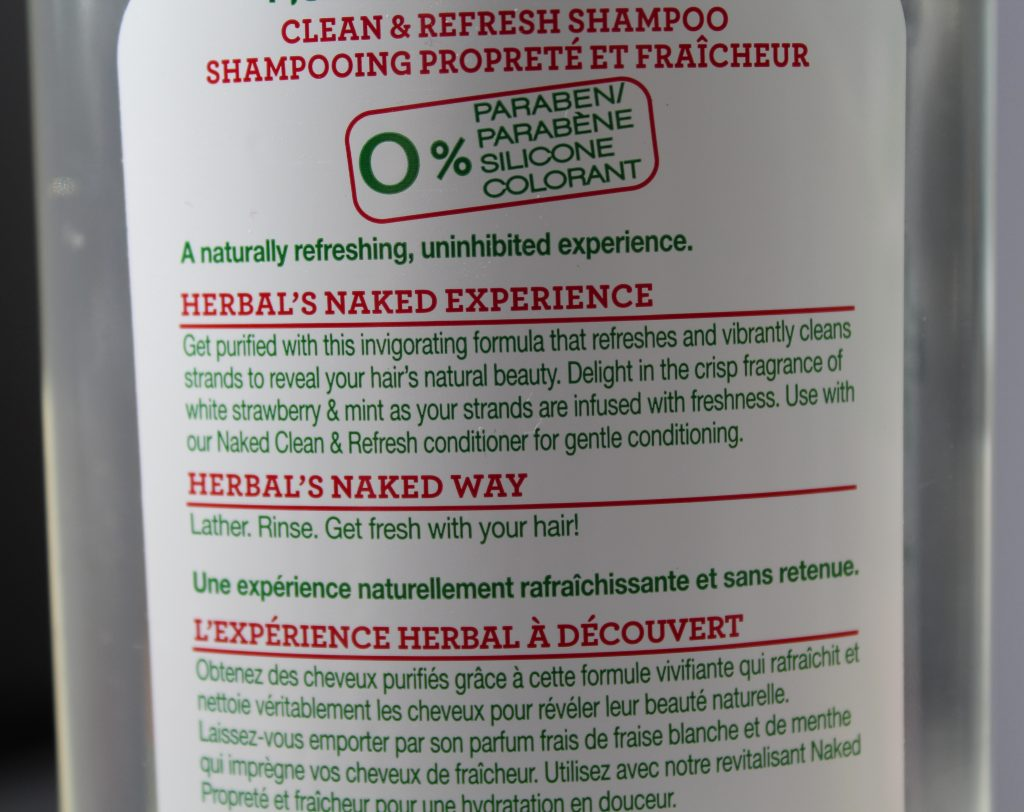 Herbal Essences Naked Clean and Refresh Shampoo and Conditioner