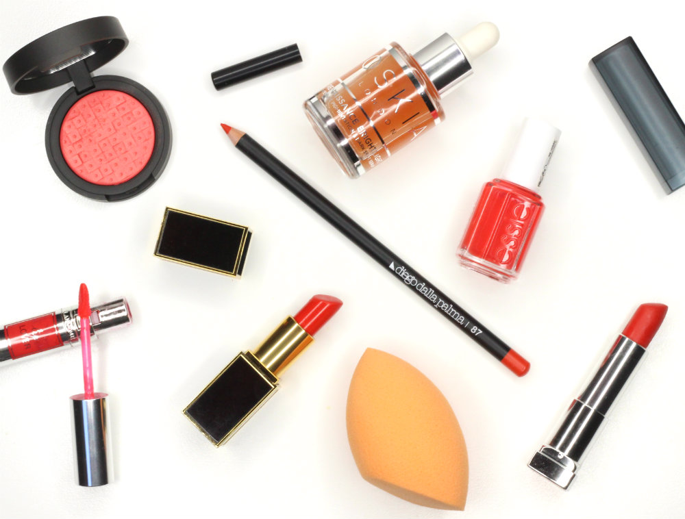 Orange Beauty Products