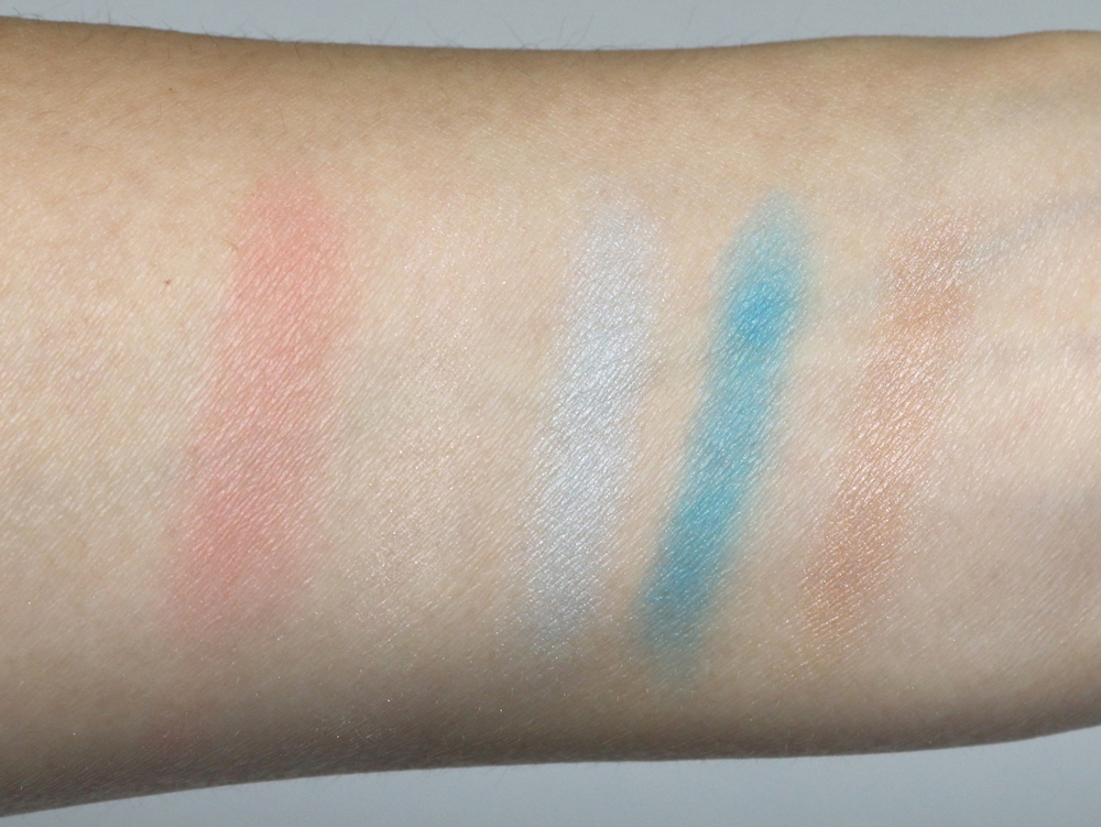 dior polka dots eyeshadow bain de mer 366 swatches