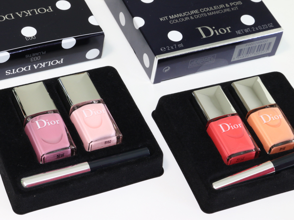 Dior Vernis Polka Dots Colour & Dots Manicure Kits for Summer 2016 ...