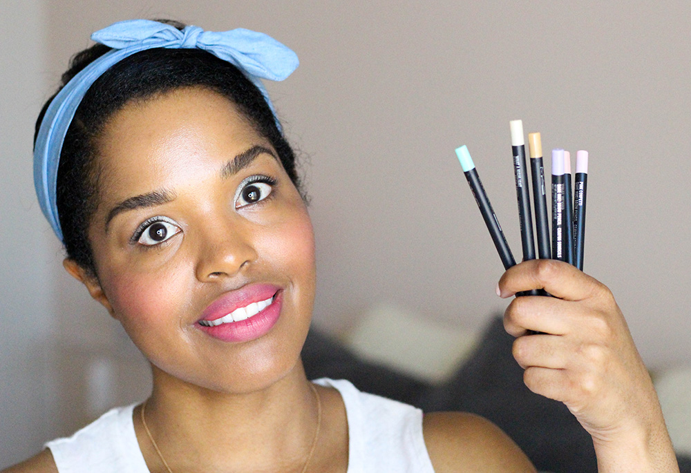 Would You Rock Pastel Brows Introducing The Mac Soft Serve