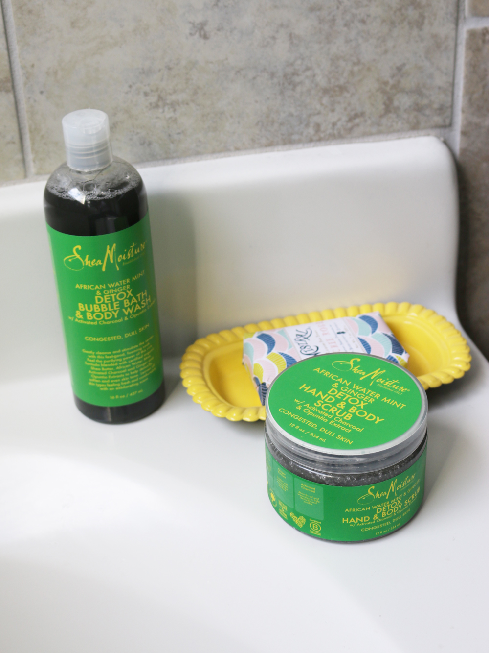 shea moisture detox & refresh african water mint