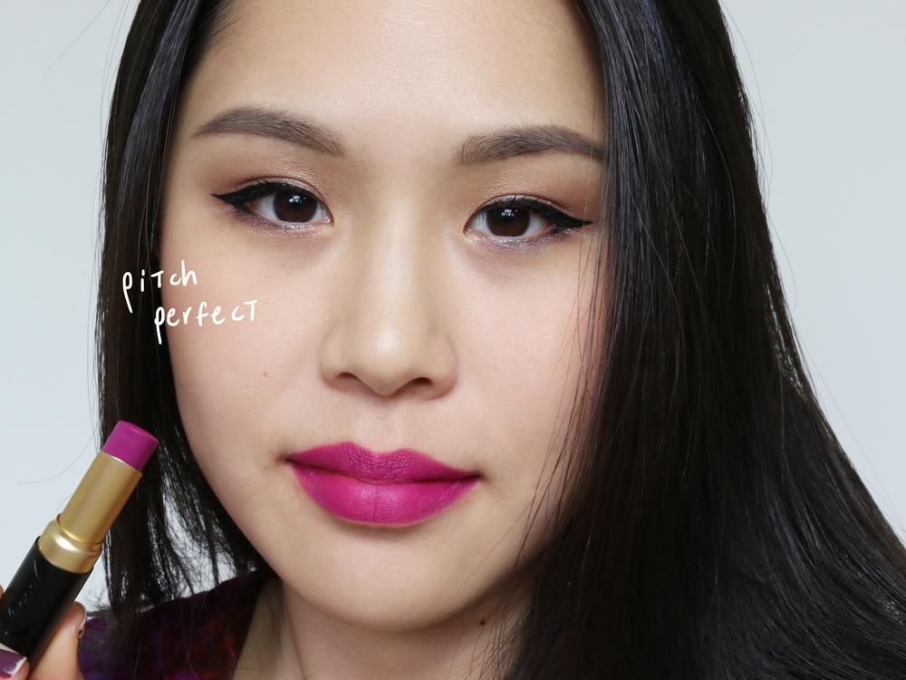 too faced la matte lipsticks pitch perfect