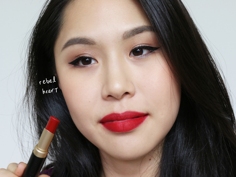 too faced la matte lipsticks rebel heart
