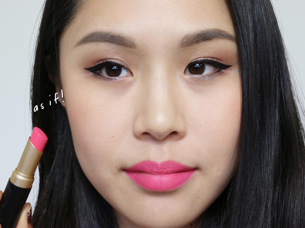 too faced la matte lipsticks as if!