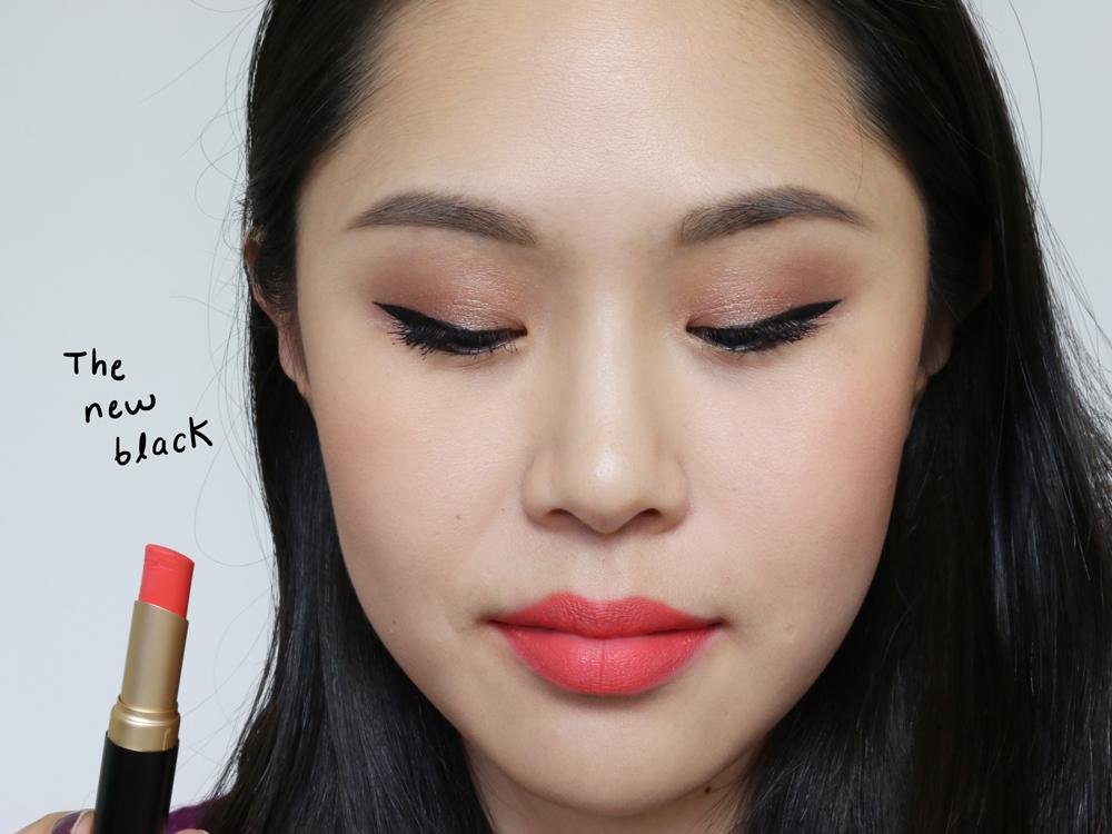 too faced la matte lipsticks the new black