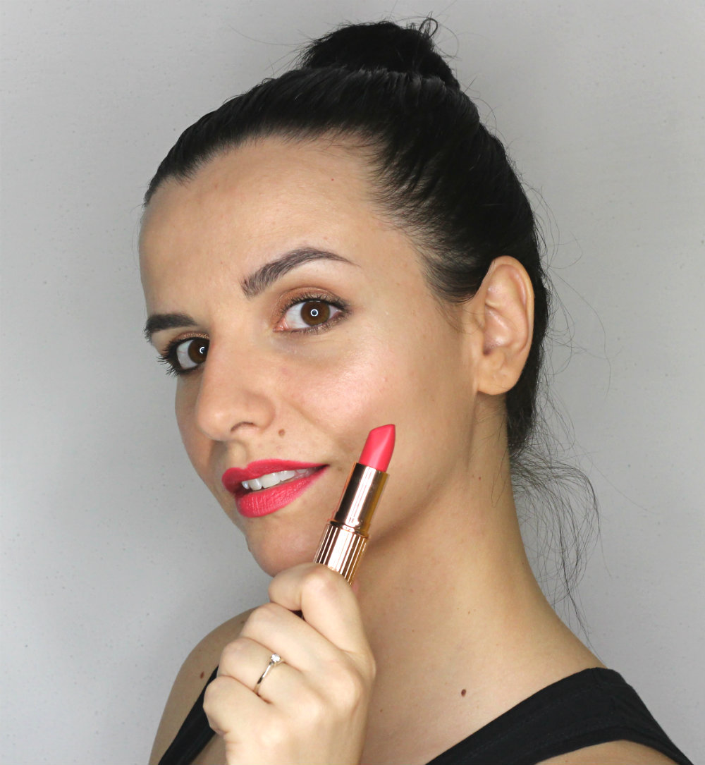 Charlotte Tilbury Matte Revolution Lipstick Lost Cherry Swatch