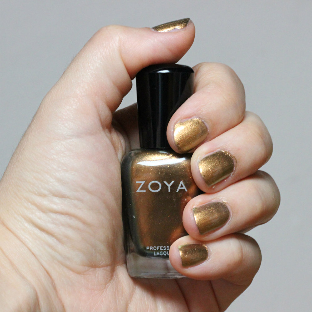 Zoya Professional Lacquer Aggie Swatches