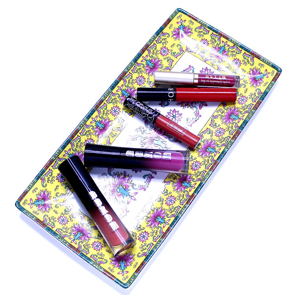 favorite liquid lipsticks