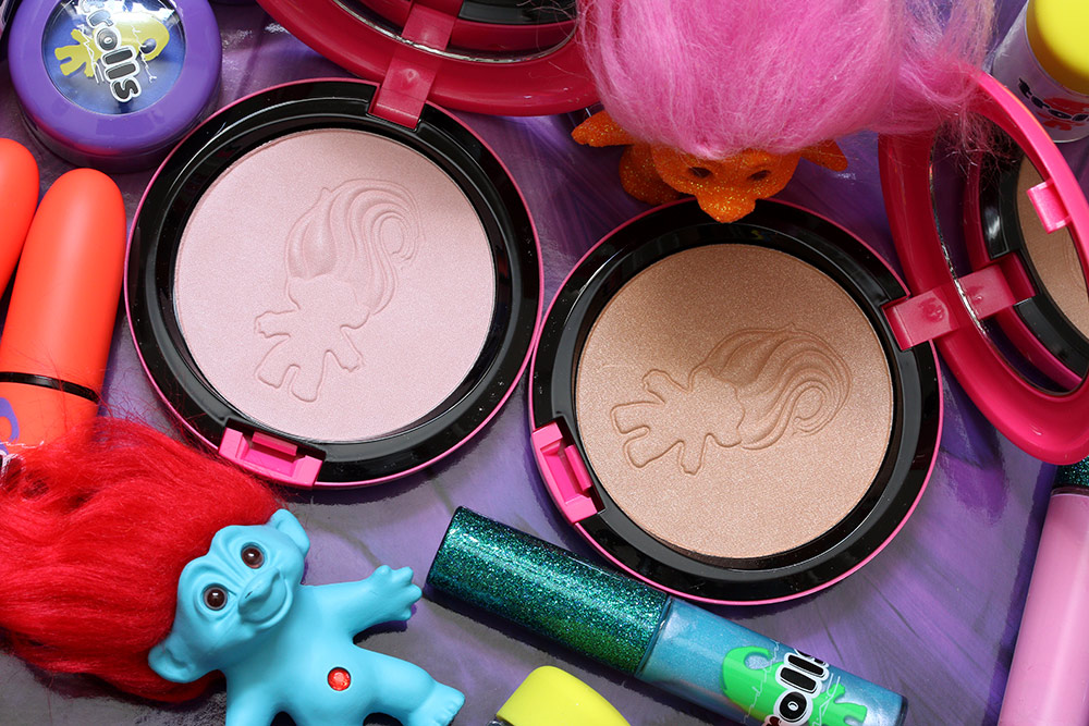 mac good luck trolls beauty powders