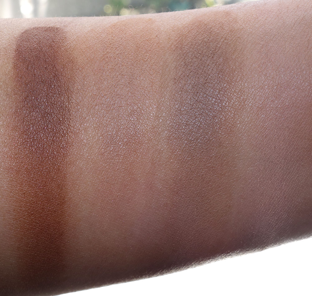 nars fall 2016 swatches contour blush