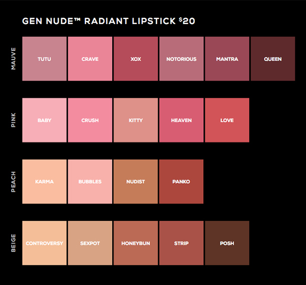 What's Nude From bareMinerals? The New Gen Nude Lipsticks ...