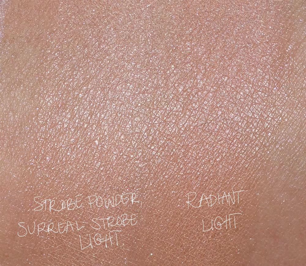 hourglass surreal light palette swatches