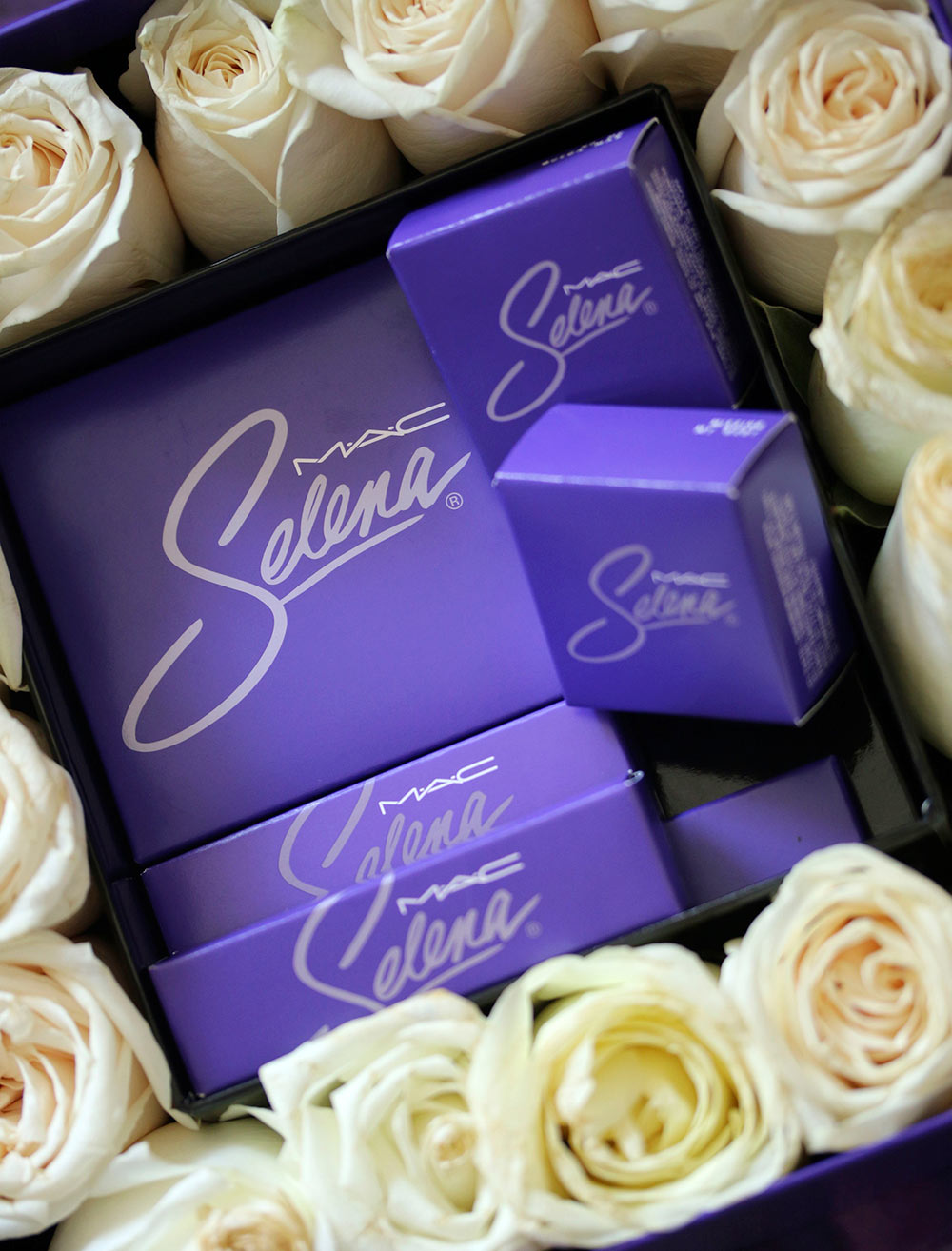 mac selena packaging