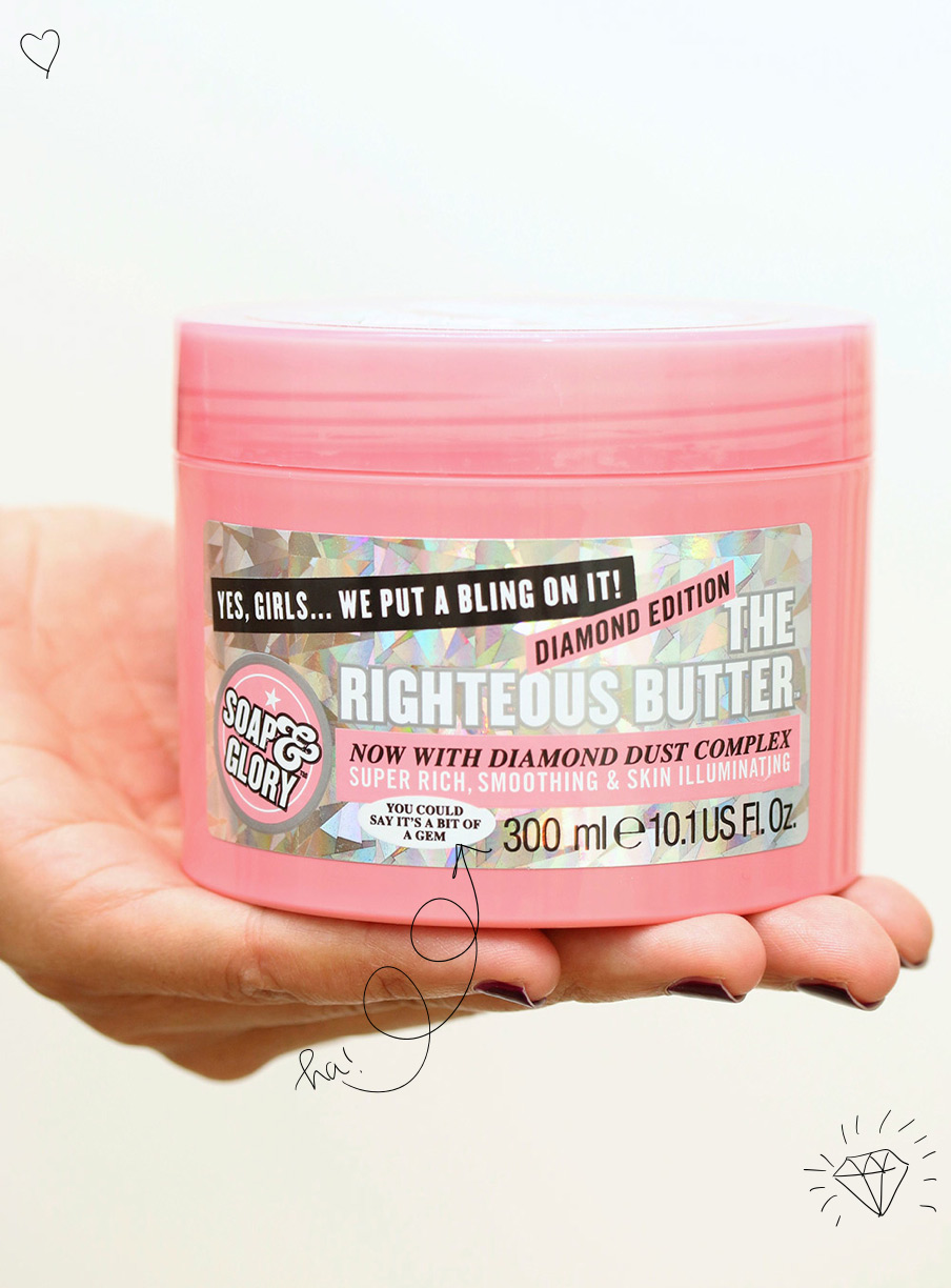 soap glory righteous butter